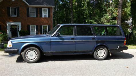 1988 Volvo 240 Dl Wagon For Sale: Photos, Technical