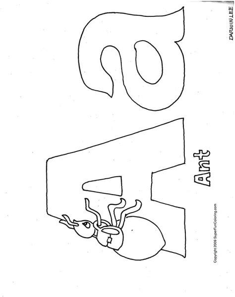 Alphabet Coloring Pages Bestofcoloringcom