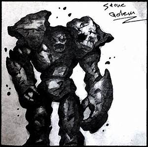 Stone Golem by Alukard1991 on DeviantArt