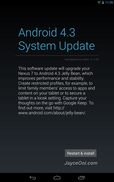 android system update why buy nexus devices jayceooi