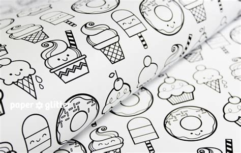 wrapping paper coloring pages coloring page