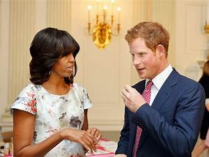 First Lady Michelle Obama Meets With Prince Harry Over Tea ...