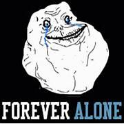 Forever Alone Wallpaper - WallpaperSafari  Forever Alone Wallpaper