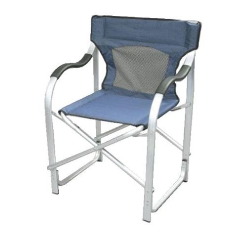 Faulkner Aluminum Director Chair by Faulkner The Director S Chair Blue Chairs Patio And