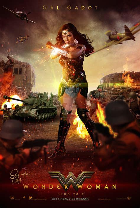 Wonder Woman  Poster Battlefield By Gerardosart On Deviantart