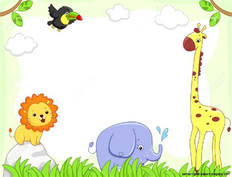 baby farm animal clipart borders   cliparts