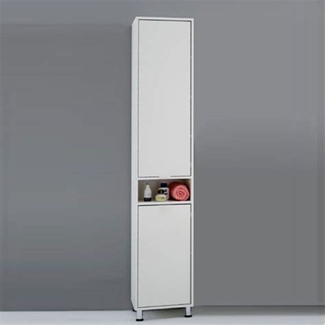Lowes Cupboard by Zamora1 Bathroom Cupboard In White Finish With 2 Door