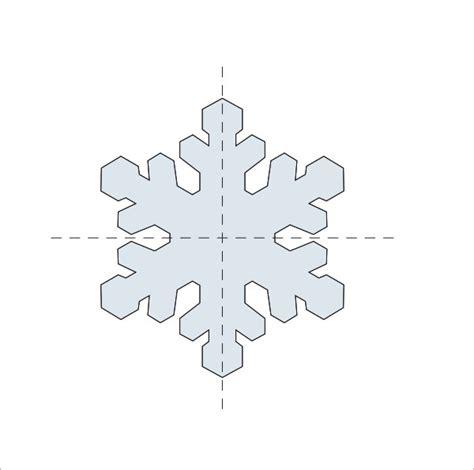 Snowflake Template Martha Stewart snowflake template 11 free pdf