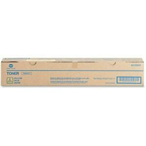 Touching any part other than those indicated may result in burns. Genuine Konica Minolta TN216Y Yellow Toner For Bizhub C220 ...