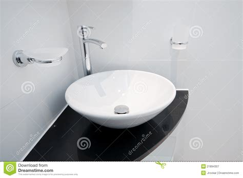 Hand Wash Basin Royalty Free Stock Photography