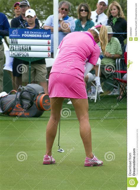 LPGA Womens Golfer Lexi Thompson Editorial Photography ...