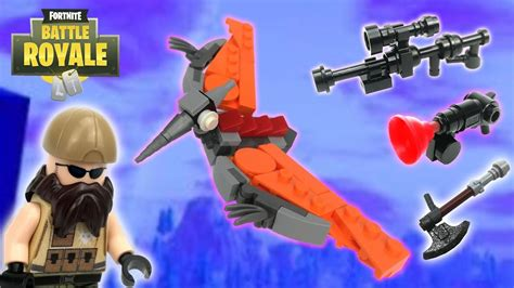lego fortnite grappler heavy sniper pterodactyl