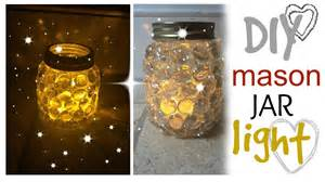 diy jar light easy craft idea