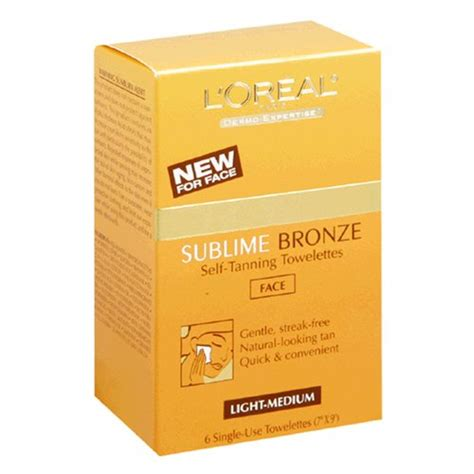 best face tanning l reviews l 39 oreal sublime bronze self tanning towelettes for face