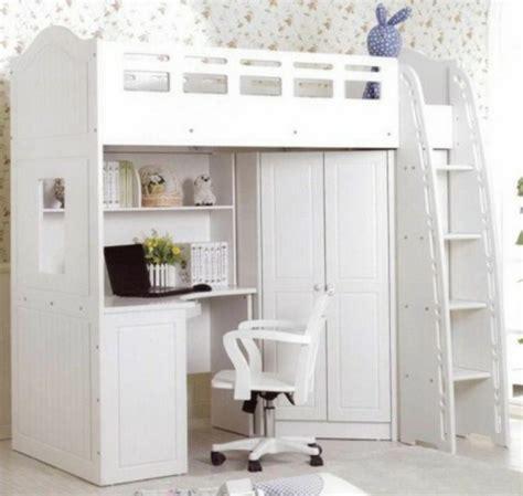 lit mezzanine avec bureau et armoire le lit mezzanine avec bureau est l 39 ameublement créatif