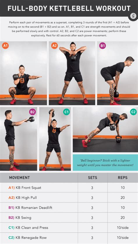 kettlebell workout body swing level any