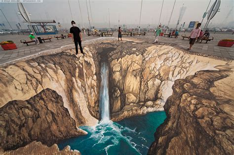 3d Paint : Amazing And Realistic Examples Of 3d Street Painting