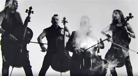 apocalyptica covers metallicas battery  cellos
