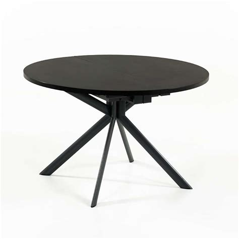 table ronde extensible en ceramique giove connubia