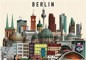 The Awesome Berlin Illustrations by Martin Schwartz ...
