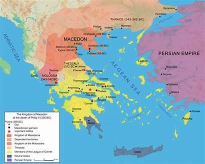 Macedonia Wikipedia Ancient Kingdom History Map Bc