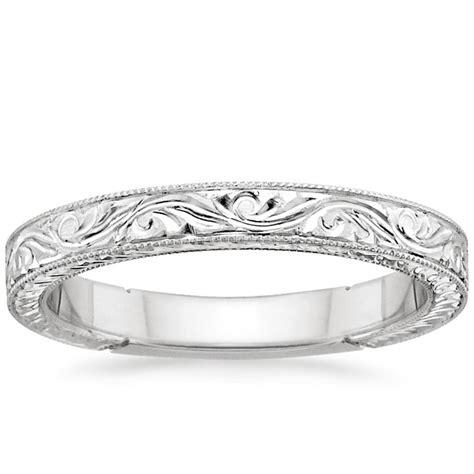 Handengraved Laurel Ring  Brilliant Earth