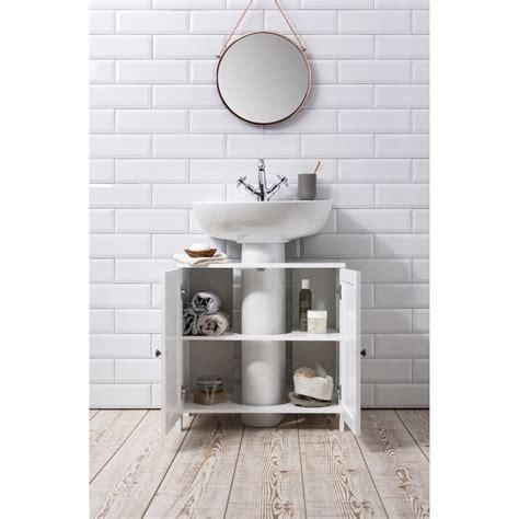 stow bathroom sink cabinet undersink  white noa nani
