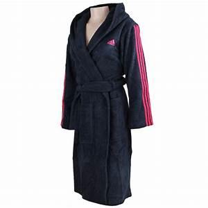 Bademantel Damen Adidas : adidas adi bathrobe damen bademantel f51243 dark blue pink fun sport vision ~ Orissabook.com Haus und Dekorationen