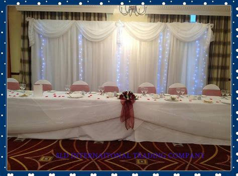 3m X 6m White Wedding Backdrop S With Swag And Drape
