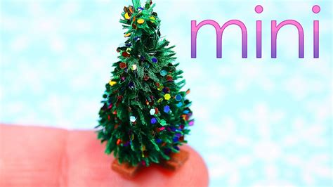 Diy Miniature Christmas Tree