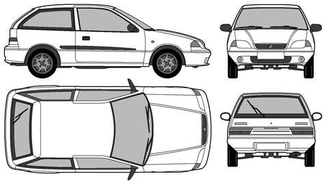 auto suzuki swift gs  door bild bild zeigt abbildung