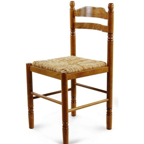 chaises s jour chaise de salle à manger en bois paille jeanne 424