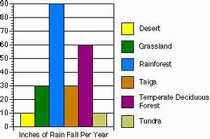 Precipitation Graph Of The Desert Desert Biome