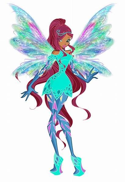Winx Club Aisha Glowix Rainbow Powers Deviantart