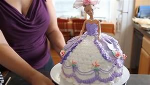 Barbie Doll Cake How to decorate a Barbie Doll/Princess