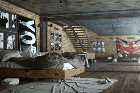 chambre style usine chambre style usine