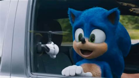 sonic  hedgehog  trailer features  redesigned