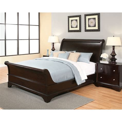 king size platform bedroom sets 5 tips in using the king size sleigh bed 19012