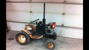 10hp Diesel Roper Garden Tractor    Build Part 3
