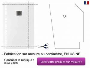 Receveur Sur Mesure : receveurs de douches longueur 120 receveur de douche en ~ Premium-room.com Idées de Décoration