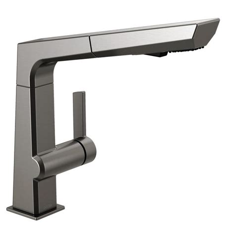 Black Pull Out Kitchen Faucet by Kohler Coralais Single Handle Pull Out Sprayer Kitchen