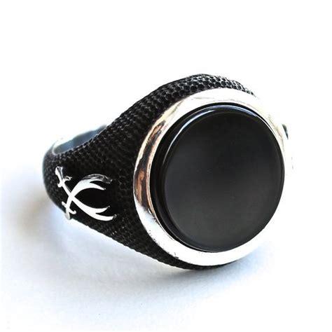 images  men rings  pinterest black onyx
