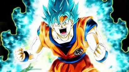 Goku Saiyan Super God Wallpapers Dragon Pc