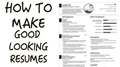 How To Create A Great Cv by Make Resume