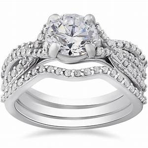 2018 popular walmart white gold wedding bands for Walmart gold wedding rings