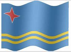 Animated Aruba flag Country flag of abFlagscom gif
