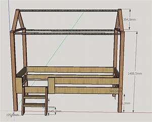 Plan Cabane En Bois Pdf : plan lit cabane par lilsaint sur l 39 air du bois ~ Melissatoandfro.com Idées de Décoration