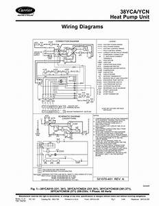 38yca  Ycn Heat Pump Unit Wiring Diagrams