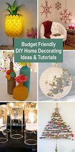 Budget, Friendly, Diy, Home, Decorating, Ideas, U0026, Tutorials, 2017