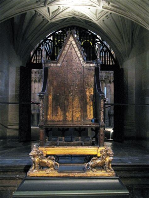 King Edward Coronation Chair by The Coronation Chair And Been Crowned